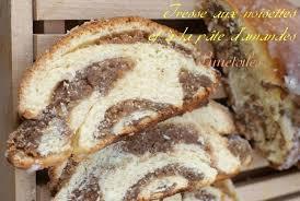 recette de pate a brioche brioche tressee aux noisettes et à la pâte d amandes amour de