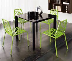 Image Of Contemporary Metal Kitchen Chairs
