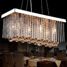 Maskros Pendant Lamp Uk by Discount K9 Crystal Chandeliers Led Pendant Light Rectangle