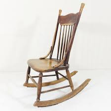 Beautifully Worn Antique Rocking Chair. This Style Is Known As A ... Outdoor Rocking Chairs Cracker Barrel Price Guide For Antique Ladderback Shaker Rocking Chair Vintage Ladder Back Youth Chair Vgc Wooden Beech Rocking Chair Ruced In Cardigan Ceredigion Antique Spindle Back With Pressed Leather Seat Shaker Avery Teach And Co Tn34 Hastings 7000 Antique Elm Spindle Childs With Rushed Seat Beautiful Antiques Hand Made 10 Best 2019 Ash Ladderback Porch From Dutchcrafters Amish Fniture