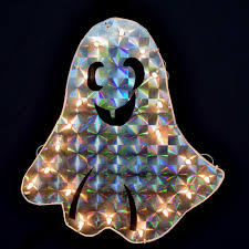 Buy Halloween Hologram Projector by Halloween Ghost Light Holographic Window Light