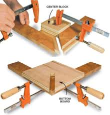 This Shop Made Miter Clamp Has Many Of The Same Advantages As Expensive Metal Ones Its Strong Easy To Useholds Project Parts Both Square And Flat