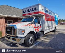 100 26 Truck Front Of Large Foot Uhaul Rental Moving Truck Or Van Used For A