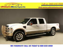 100 Diesel Trucks For Sale Houston 2009 D F250 2009 SUPER DUTY KING RANCH DIESEL 4x4 CREW 107K ML