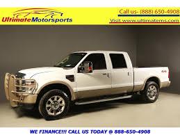 100 Trucks For Sale In Houston Texas 2009 D F250 2009 SUPER DUTY KING RANCH DIESEL 4x4 CREW 107K ML