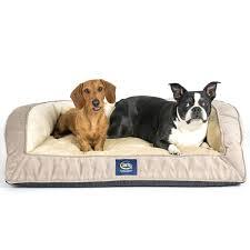 Bolster Dog Bed by Serta Dog Beds U2013 Thewhitestreak Com