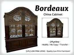 Dining China Cabinet With Display Dinnerware Hutch Buffet Modern Room Sets