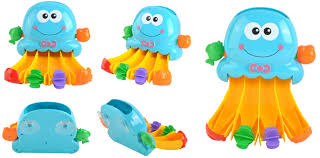 badespielzeug wasserfall krake station dusche pool