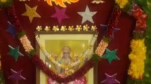 Varalakshmi Vratham Decoration Ideas Usa by Varalaxmi Vratham Decoration Youtube