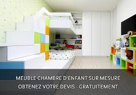 chambre enfant sur mesure devis meuble moblier armoire placard dressing rangements