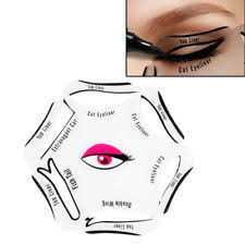 cat eye template smoky winged eyeliner diy guide template stencil 1pc