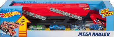 100 Hot Wheels Truck Mega Hauler With 4 Cars Red FPM81 Best Buy
