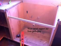 Ikea Domsjo Double Sink Cabinet by Day 17 Install An Ikea Domsjo Sink U2026and Live