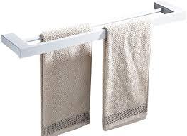 casewind 60cm handtuchhalter handtuchstange doppelt weiß