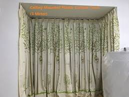 Ceiling Mount Curtain Track Amazon by Ceiling Curtains Amazon Com