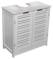Pedestal Sink Storage Cabinet by Shop Houzz Evideco Freestanding Non Pedestal Under Sink Vanity