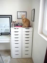 Ikea Alex Makeup Storage Drawer Units Can Be Extremely Useful When