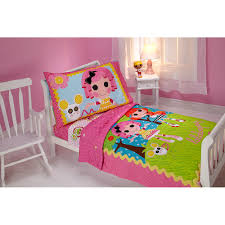 Walmart Bed In A Bag by Lalaloopsy Sew Cute 4 Piece Toddler Bed Set Walmart Com