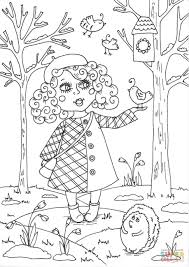Peppy In March Coloring Page