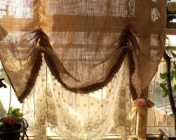 Simply Shabby Chic Curtain Panel by Balloon Curtain Etsy