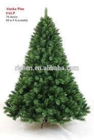 2m Mountain King Artificial Christmas Tree Red Green Spiral Pull Up Xmas