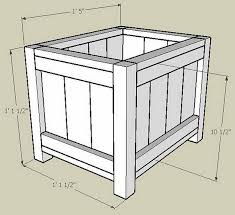 build a wooden planter box how to make wooden planter boxes