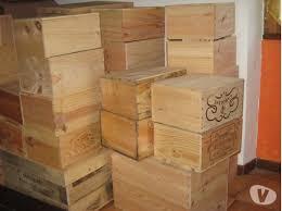 caisse a vin en bois caisses de vin caisses de pommes mimbaste 40350 meubles