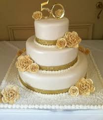 Looking For A Golden Wedding Cakes Your Cardiff
