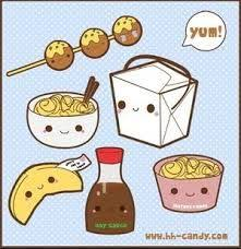 Too Cute Chinese FoodLOL Foodandhunger Via Kawaii Food Takeout By A Little Kitty On DeviantART