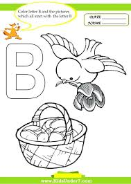 Classic Coloring Pages Alphabet