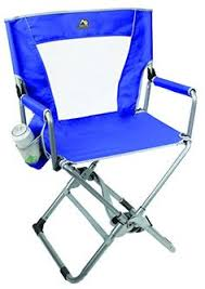 Professional Tall Folding Directors Chair by World Outdoor Products Professional Make Up Pro Tall Folding