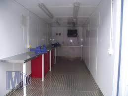 100 Shipping Container Flooring 20ft ISO Workshop For A Naval Dockyard