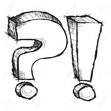 Pin Drawn Question Mark Sketch 5