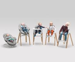 From Birth Through Childhood: Versatile Stokke Steps Baby ... Stokke Steps Complete High Chair With Cushion Whitenaturalgrey Clouds Tripp Trapp Natural Highchair And Newborn Set My Favourite Baby Clikk Soft Grey The Or The Ikea Which Is Village Review Good Bad High Chair Baby Set Up Game Print Shoppe Bundle Hazy Legs White Seat Tray