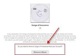 Delete U2 Album on iPhone