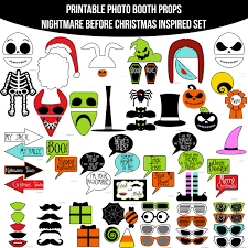 Instant Download Nightmare Before Christmas Inspired Printable Photo