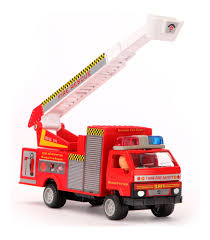 Buy Fire Brigade Truck Online In India • Kheliya Toys