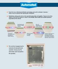 Uv Sterilizer Cabinet Singapore by Buy Chickabiddy Micro Computer Ultraviolet Sterilizer And Dryer