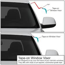 Amazon.com: Chevy/GMC Crew Cab 4pcs Tape-On Window Visor Deflector ... Egr 0713 Chevy Silverado Gmc Sierra Front Window Visors Guards In Best Bug Deflector And Window Visors Ford F150 Forum Aurora Truck Supplies Stampede Tapeonz Vent Fast Free Shipping For 7391 Chevygmc Truck Smoke Tint Window Visorwind Deflector Hdware Inchannel Smoke Weathertech Deflector Wind Visor Ships Avs Color Match Low Profile Deflectors Oem Style Rain Avs Install 2003 2004 2005 2006 2007 Dodge 2500 Shade Fits 1417 Chevrolet 1500 Putco Element Sharptruckcom
