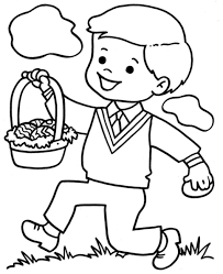 Coloring PagesColoring Page Of Boy Little Pages Free Printable For Kids To Download