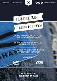 the 6th edition of denim days at rambam denim store eindhoven nl