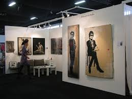 100 Urban Art Studio Jef Arosol 2012 AAF Art Fair Battersea London UK Fre