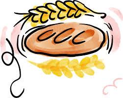 Croissant Bread Watercolor Painting Baking Clip Art