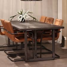 eleonora esstisch hudson akazienholz schwarz 160 x 90 cm livin24