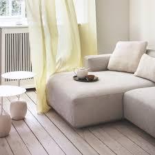 Stanford Chenille Fabric L Shape Corner Sofa Storage Bed Home Done