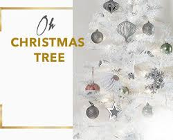 Slimline Christmas Tree Asda by Christmas Shop George At Asda