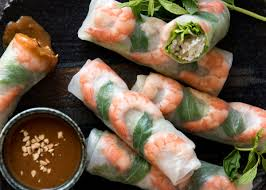 Jam Packed With Fresh Bright Flavours Learn How To Make Vietnamese Rice Paper Rolls