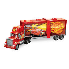 100 Lightning Mcqueen Truck Mack Super Track Transforming Vehicle Cars ShopDisney