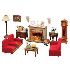 Sylvanian Families Deluxe Pleasing Living Room Set