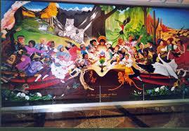 Denver International Airport Murals Painted Over by Church Of Nicolaitans Jcemmanuel